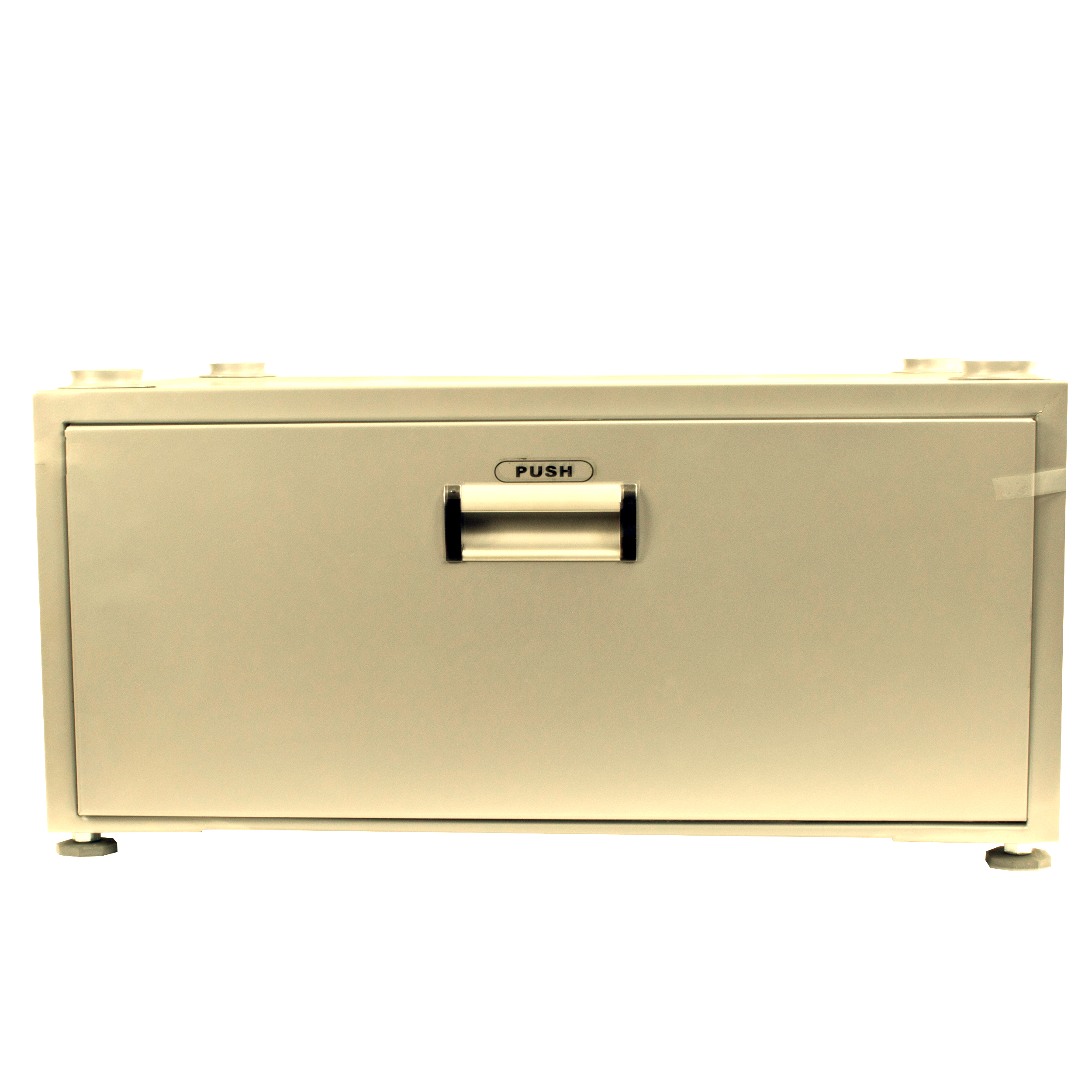 High Pedestal 18-2835 <br> with Storage drawer (Gold)