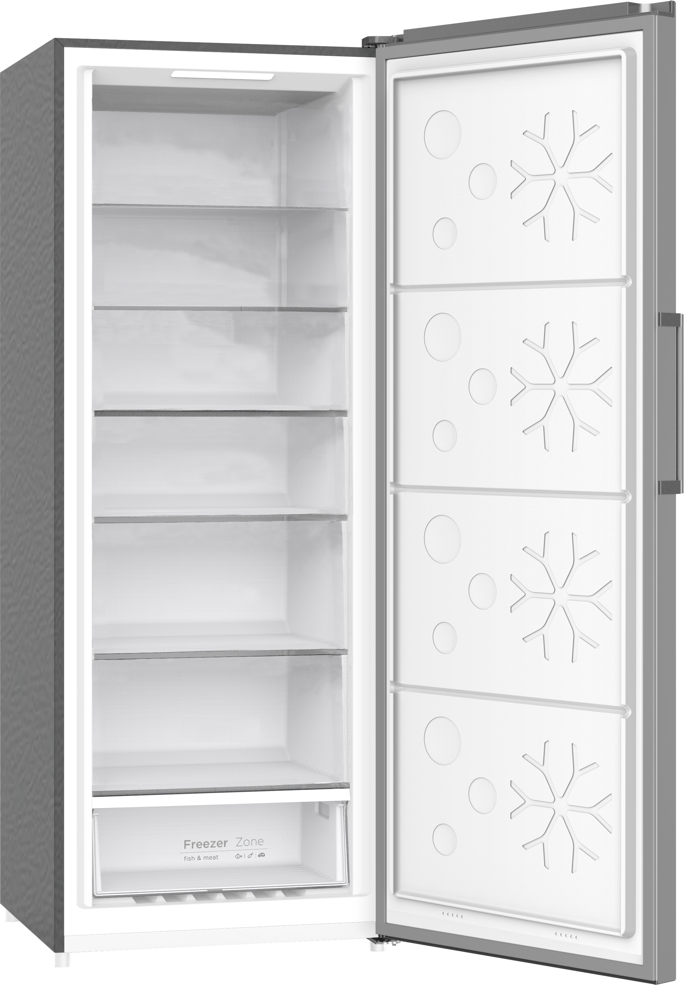 FR1350SS - Upright Freezer Stainless Steel