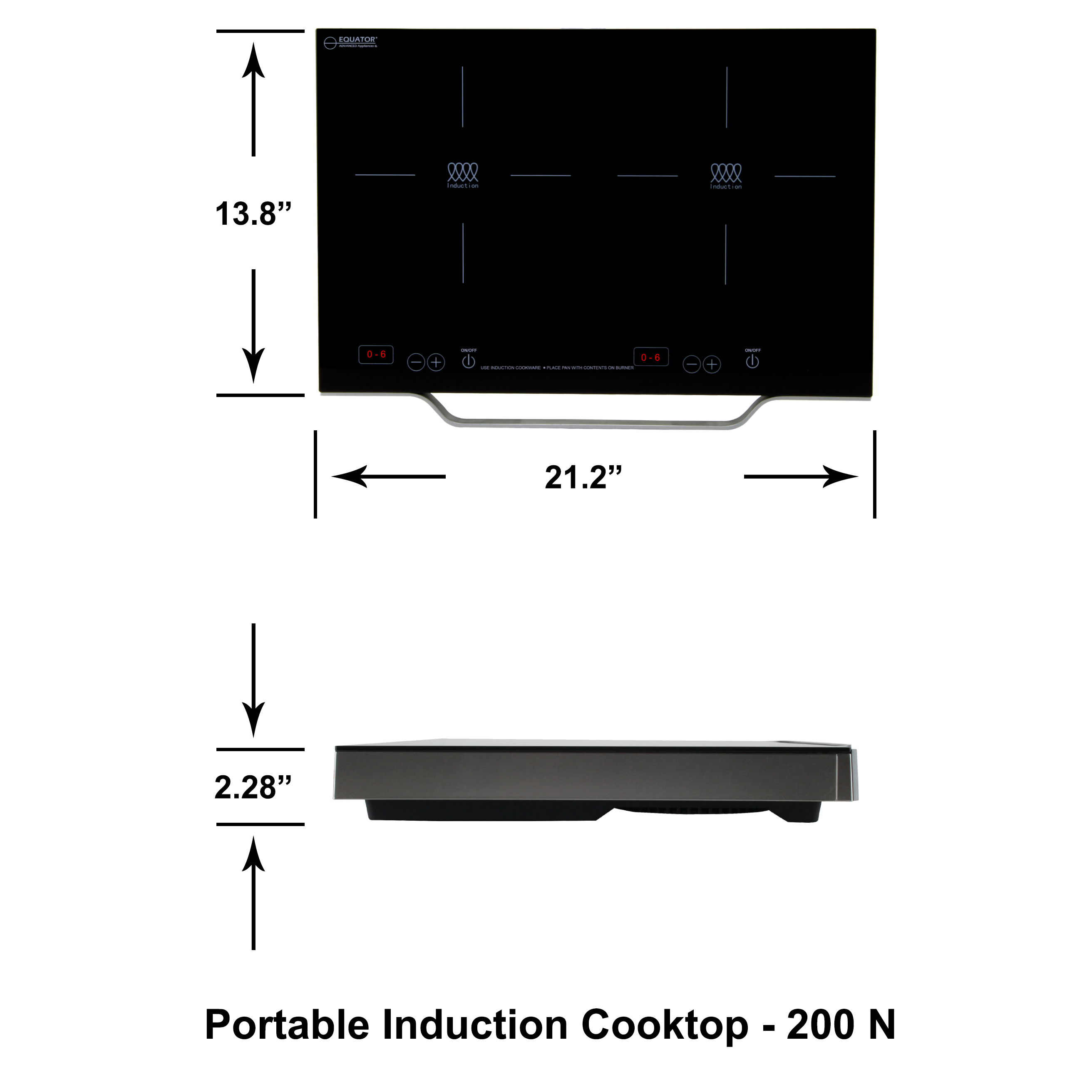 Portable Induction Cooktop PIC  200N