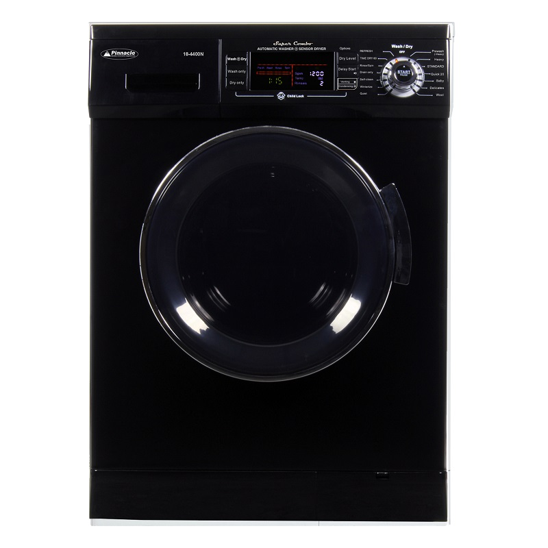 Super Combo Washer-Dryer <br> 13 lbs Black