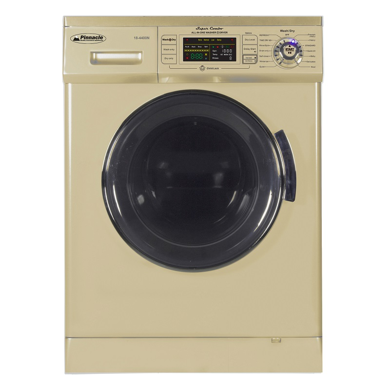 Super Combo Washer-Dryer <br> 13 lbs Champagne Gold