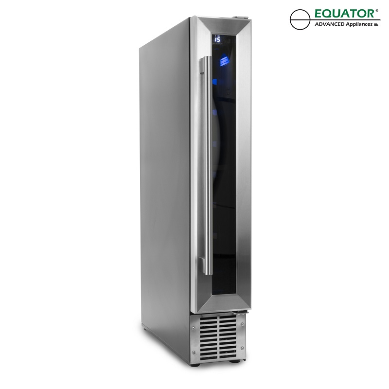 WR 009 - Slim Wine Refrigerator - 9 bottles - SS