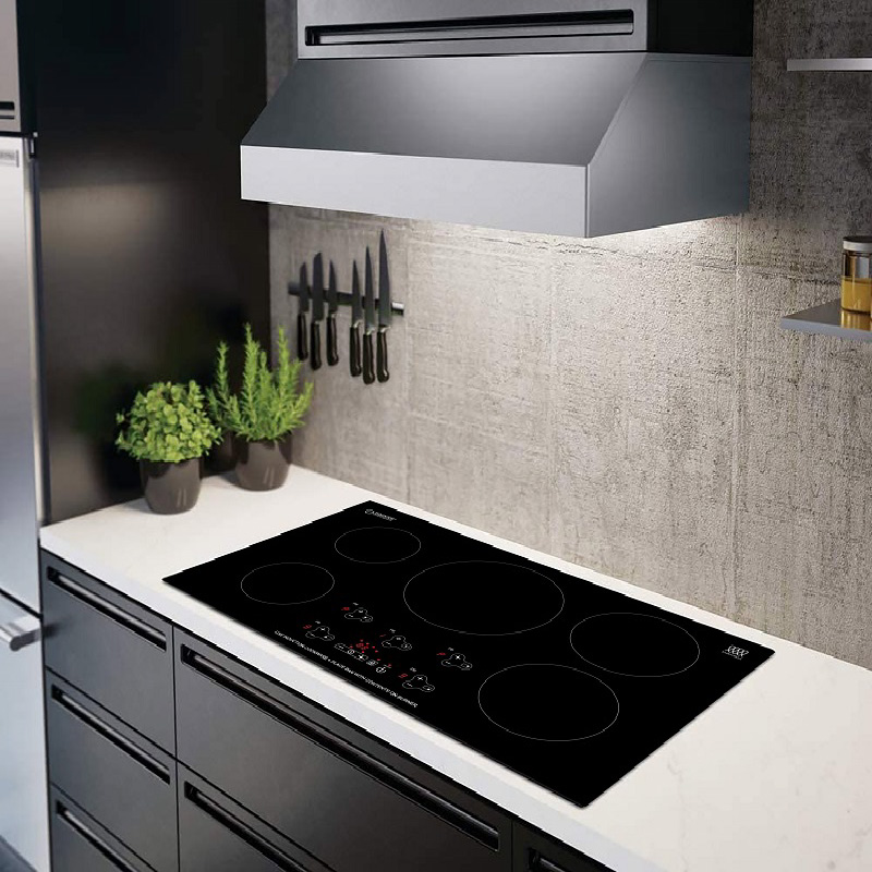 36 Inch Built-In Induction Cooktop