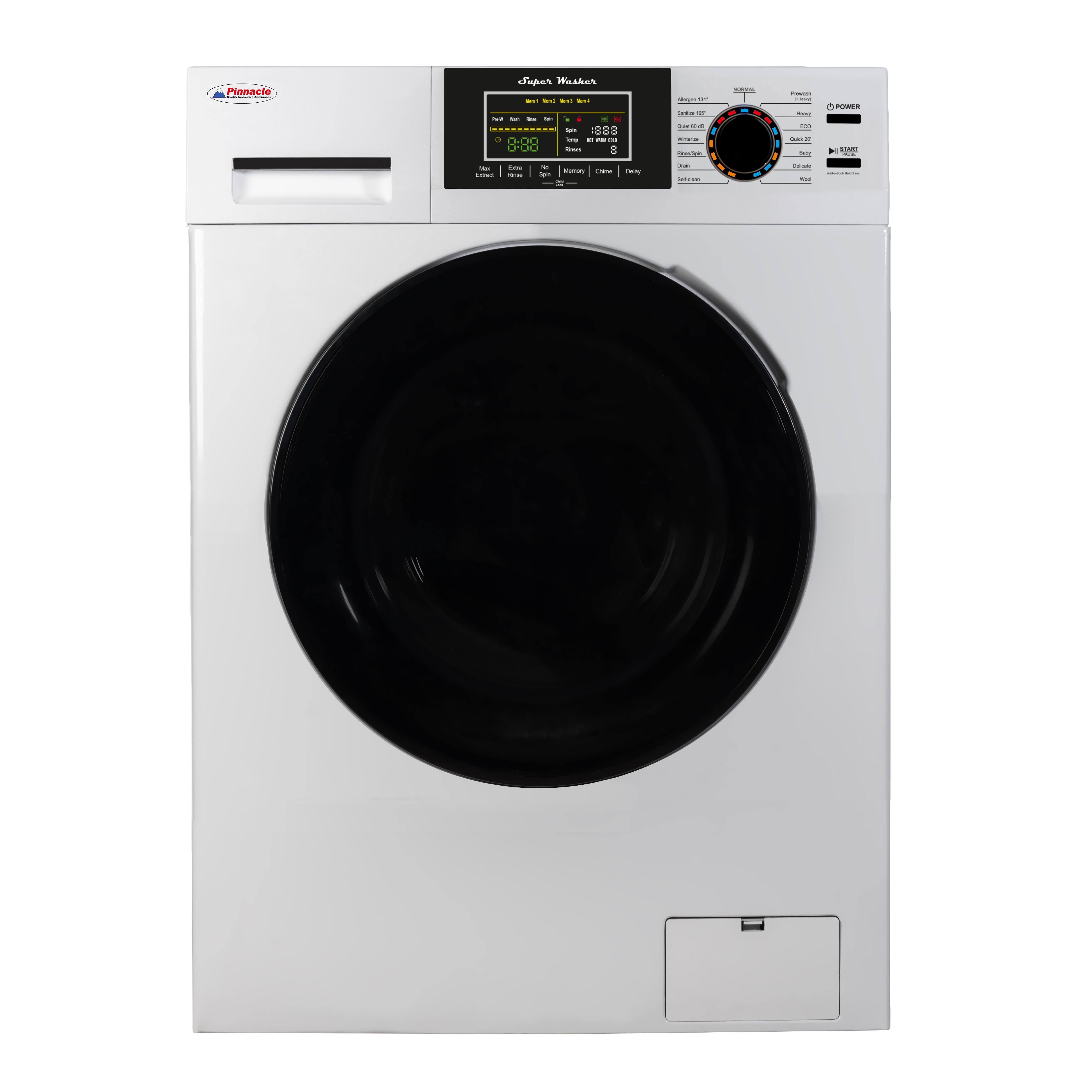 XL Washer 18 lbs White