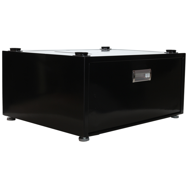 Pedestal Black (11.5 inch with Drawer)