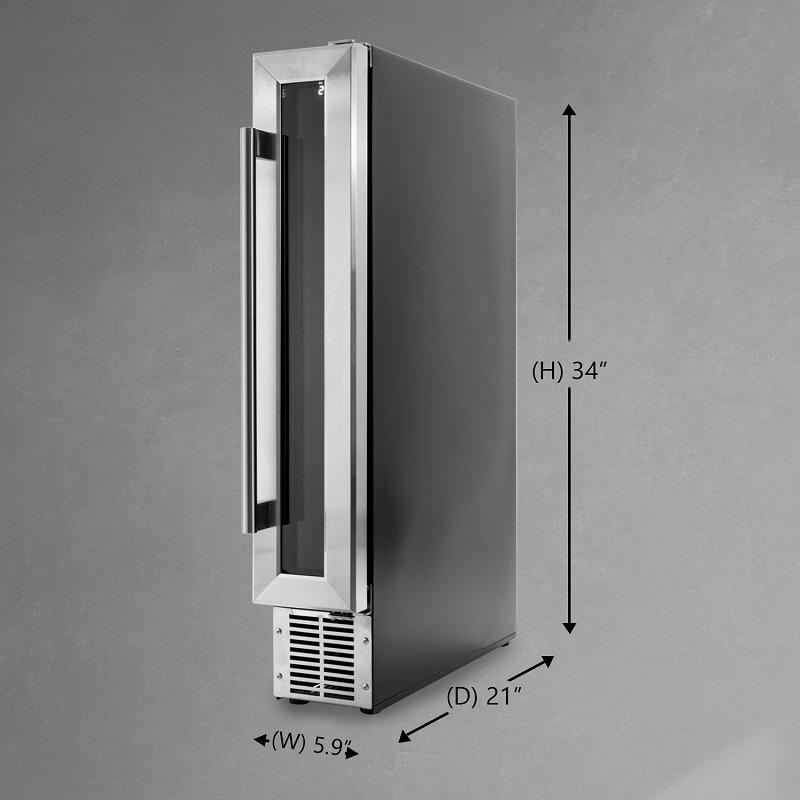 Slim Wine Refrigerator