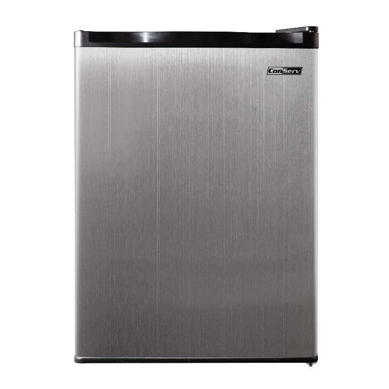 Conserv 2.6 cu.ft. Compact Refrigerator-Stainless, Reversible Door