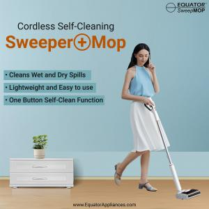 Equator's Cordless Self-Cleaning SweepMOP Rated Five Stars
