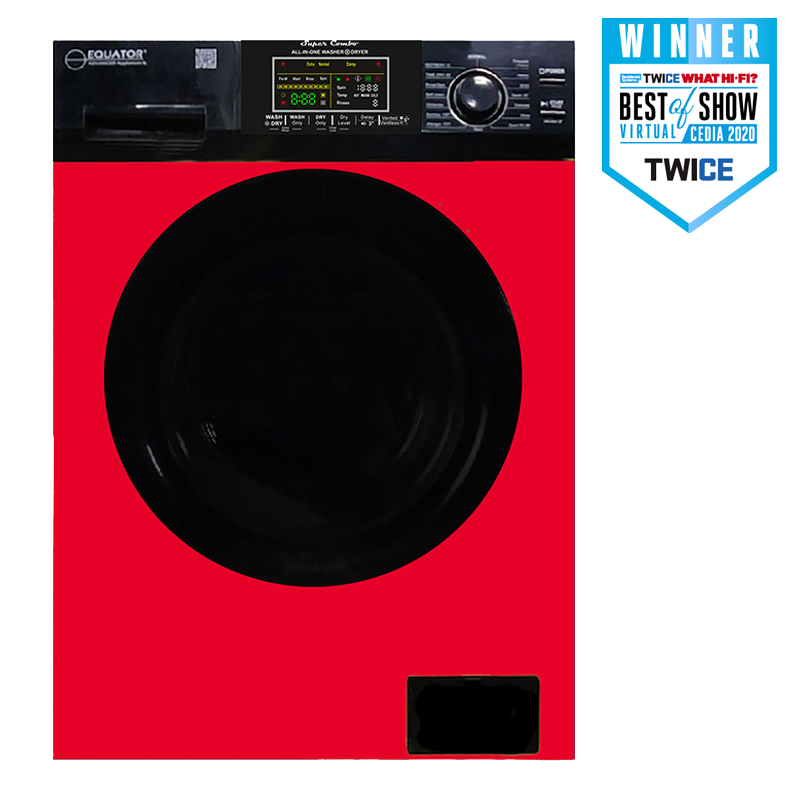 Super Combo Washer Dryer<br> Red Fall 2021