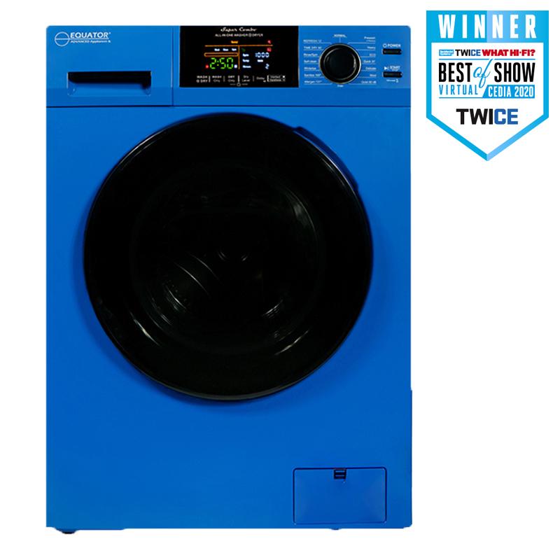 Equator Super Combo Washer-Dryer Blue <br> EZ 5500 CV