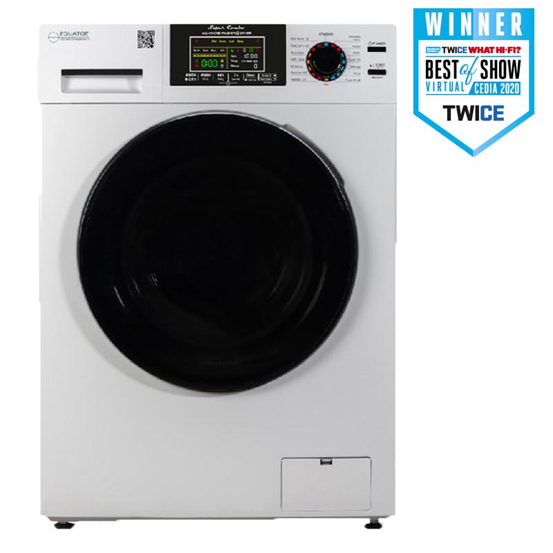 Equator Super Combo Washer-Dryer White EZ 5500 CV