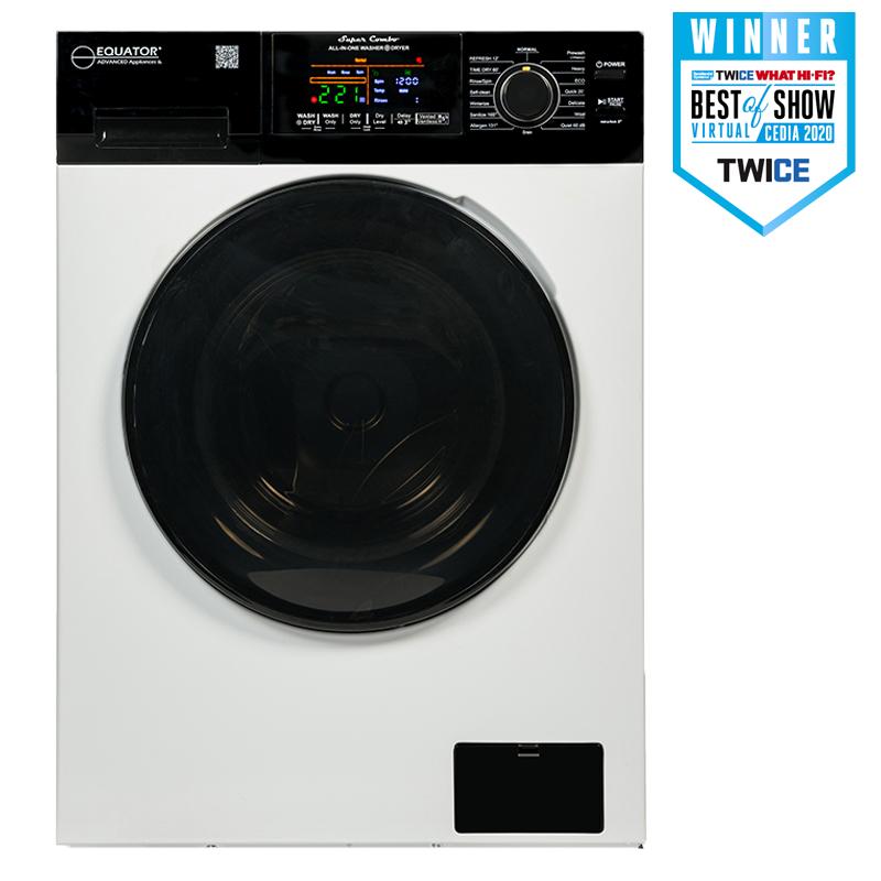 Super Combo Washer Dryer <br> White Arctic Vortex