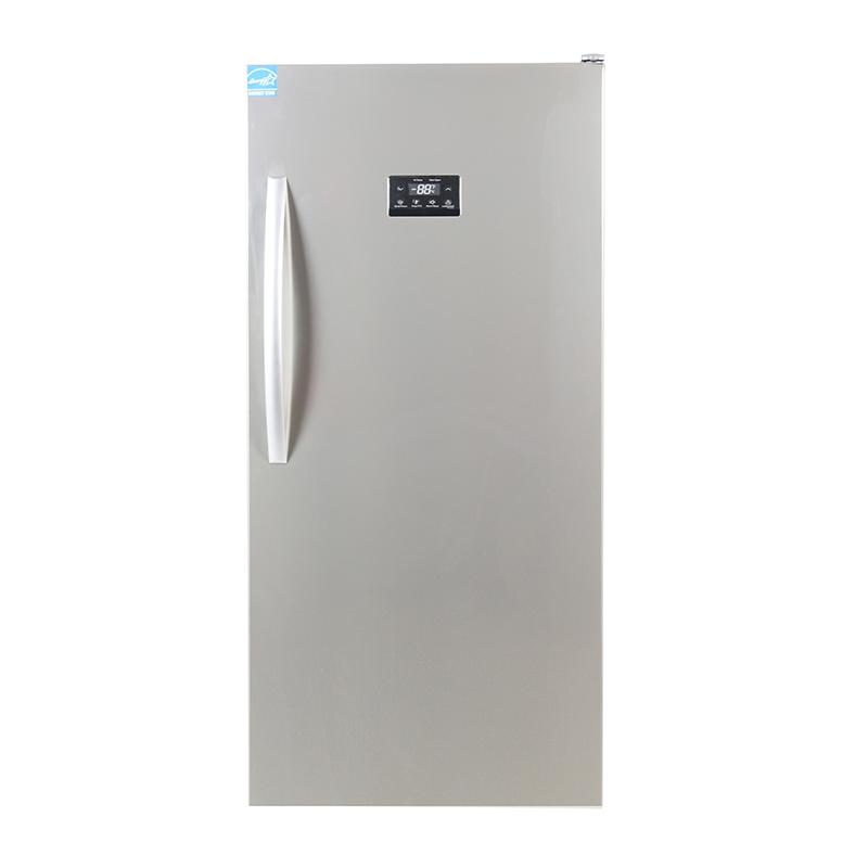 equator fr 502 650 ss upright freezer stainless capacity 137 cu - Upright Freezers
