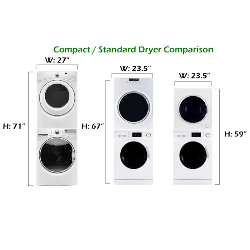Attrayant Deco Stackable Washer Dryer Set DW 820 U0026 DD 850 V